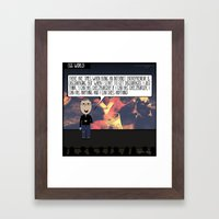 I Can HAS ANYTHING! Framed Art Print