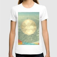 Space Dome Womens Fitted Tee White SMALL
