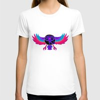 Eye Of Ra Womens Fitted Tee White SMALL