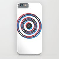 iPhone & iPod Case featuring overlapping waves by Horus Vacui