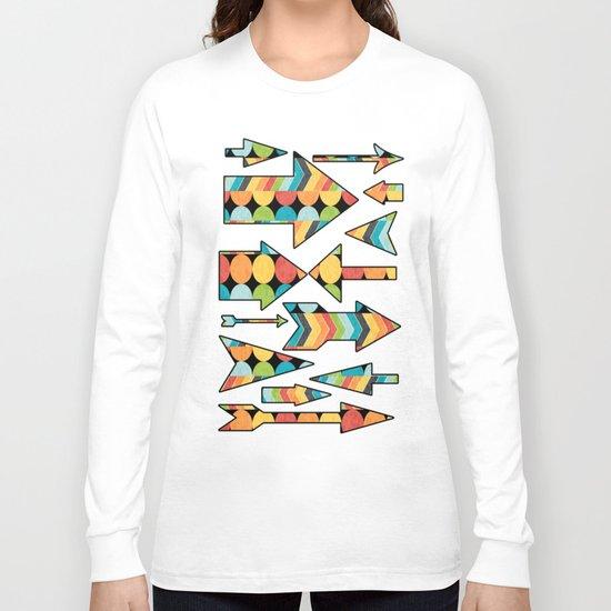 Retro Color Play Long Sleeve T-shirt