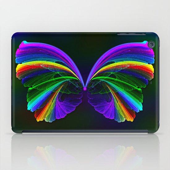 Rainbow Butterfly iPad Case