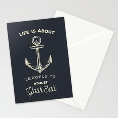 Learn to Adjust your Sail Stationery Cards