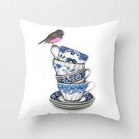Ostindia Throw Pillow