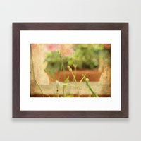 Anarchy in Planter Framed Art Print