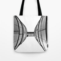 Industrial View Up Tote Bag