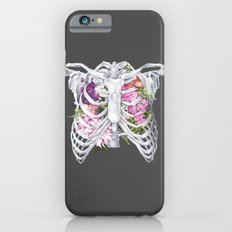 Floral Ribcage Slim Case iPhone 6s
