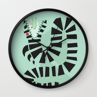 Sandworm Wall Clock