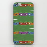 Teenage Mutant Ninja Tur… iPhone & iPod Skin