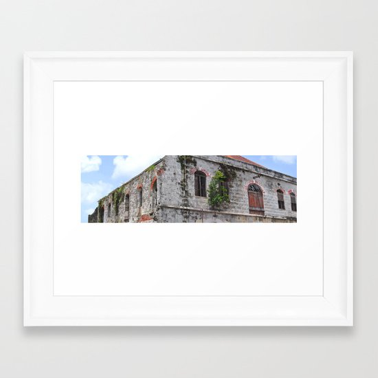 The Old Marketplace Framed Art Print