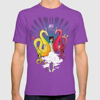Year Of The Dragon Mens Fitted Tee Ultraviolet SMALL