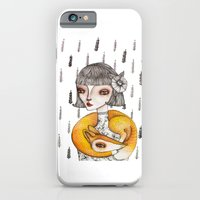 iPhone & iPod Case featuring Foxie by Nora Illustration
