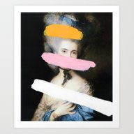 Art Print featuring Brutalized Gainsborough … by Chad Wys