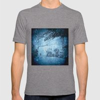 Winter View Mens Fitted Tee Tri-Grey SMALL