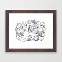 Project 5 Ge Framed Art Print
