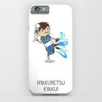 iPhone & iPod Case featuring HYAKURETSU KYAKU! by Glimy