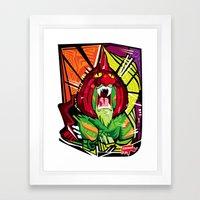 Nalubuff - Battlecat Framed Art Print