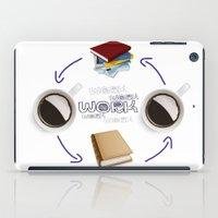 Coffee And Books - Recipe For Success Guaranteed  iPad Case