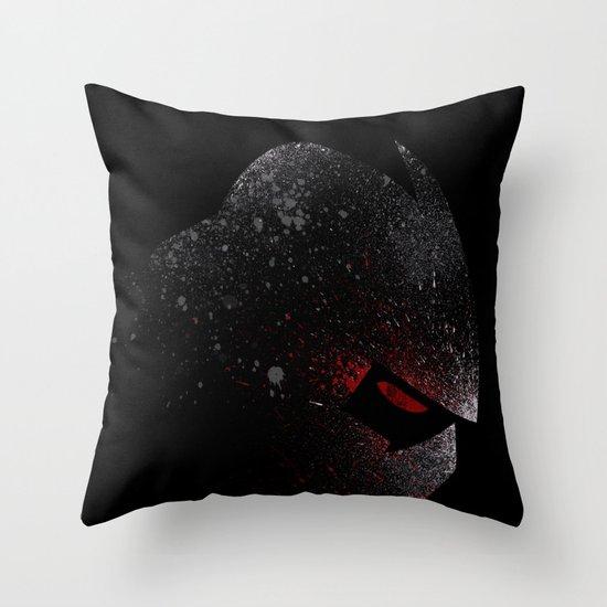 Foot Clan Master Throw Pillow