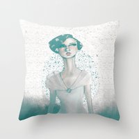 Evoke of Interest Throw Pillow