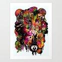 Amygdala Malfunction Art Print
