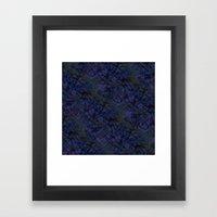 Tahitian Blue Framed Art Print