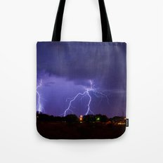 New Mexico Lightning Tote Bag