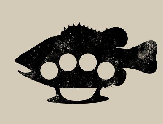 Bass Knuckles Art Print
