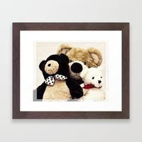 Bearily Bearily Framed Art Print