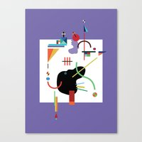 Less Sugar Dear Canvas Print