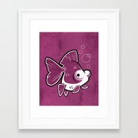 Moor Goldfish Framed Art Print