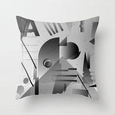 Gradients Throw Pillow