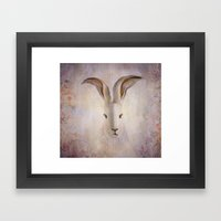 Madame Rabbit Framed Art Print