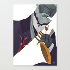 All that's jazz Canvas Print