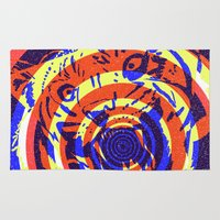 Tiger Concentric Rug
