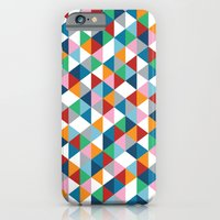 iPhone & iPod Case featuring Triangles #1 by Project M