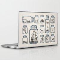 car Laptop & iPad Skins featuring Vintage Preservation by Paula Belle Flores