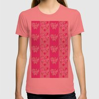 Loving Womens Fitted Tee Pomegranate SMALL