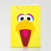 Minimal Bigbird Stationery Cards