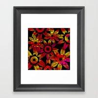 Big Floral 1 Framed Art Print