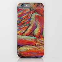 Hypatia on Fire iPhone 6 Slim Case