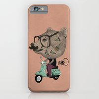 iPhone & iPod Case featuring Vesbear by Börg