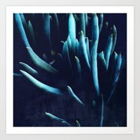 alien plants Art Print