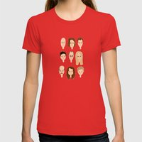 It's Arrested Developmen… Womens Fitted Tee Red SMALL
