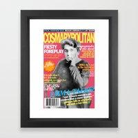 COSMARXPOLITAN, Issue 16 Framed Art Print