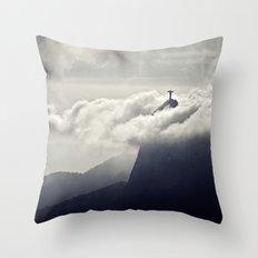 Cristo Redentor Throw Pillow