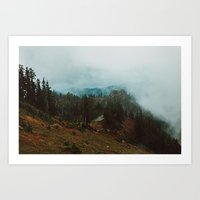 Park Butte Lookout - Was… Art Print