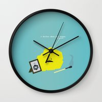 I Sulfur When You Argon Wall Clock