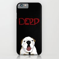 iPhone & iPod Case featuring Derp 3 by City Light Drive