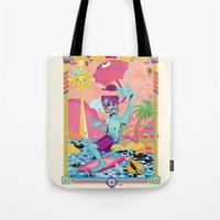 Surfeur Tote Bag